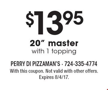 $13.95 20