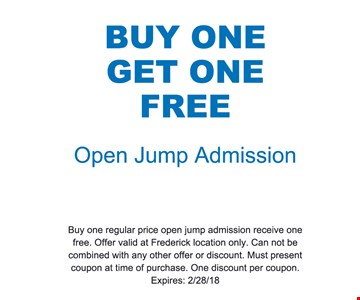 buy one get one free open jump