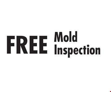FREE Mold Inspection.