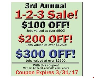 1-2-3 Sale