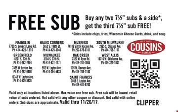 Cousins coupons