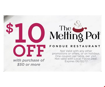 $10 off with purchase of $50 or more