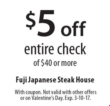 Fuji house coupons