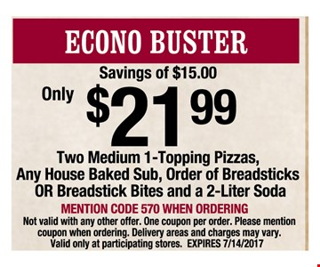 Econo Buster $21.99
