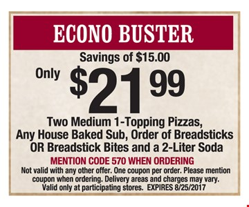 $21.99 econo buster