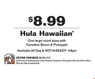 $8.99 Hula Hawaiian