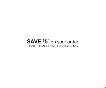 SAVE $5*on your order.. Code: TCMG0815 |Expires: 9/1/17 *Cannot be combined with any other offer. Restrictions may apply. See store for details. Edible®, Edible Arrangements®, and the Fruit Basket Logo are registered Trademarks of Edible IP, LLC. © 2017 Edible IP, LLC. All Rights Reserved.