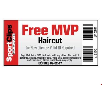 Free MVP Haircut
