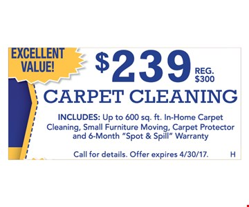 $239 Carpet Cleaning