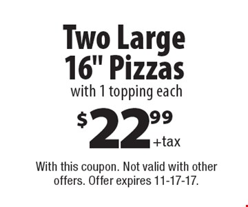 Two Large 16