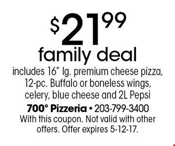 $21.99 family deal includes 16