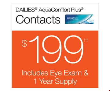 Contacts $199