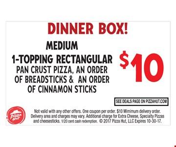 Dinner Box $10