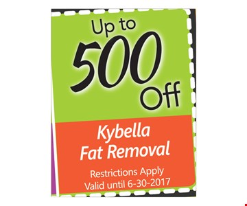 Up To $500 Off Kybella Fat Removal