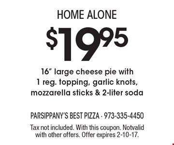 HOME ALONE! $19.95 - 16
