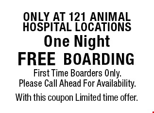 only at 121 animal