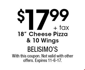 $17.99 + tax 18