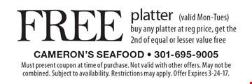Cameron's seafood coupons