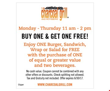 Buy One & Get One Free!