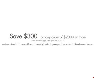 Save $300