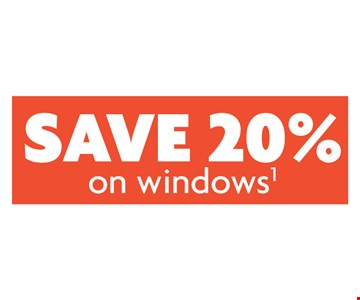 Save 20% On Windows