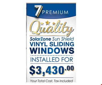 7 premium quality vinyl windows