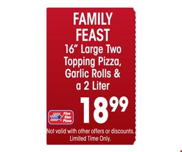 Family feast $18.99