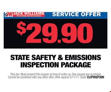 $29.90 service offer