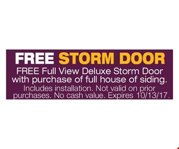 Free Storm Door