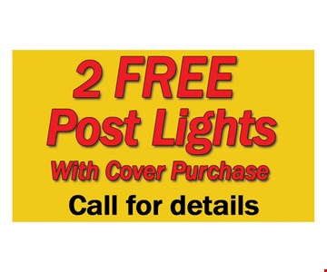 2 Free Post Lights
