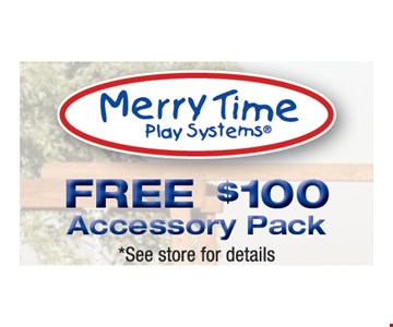 Free $100 Accessory Pack