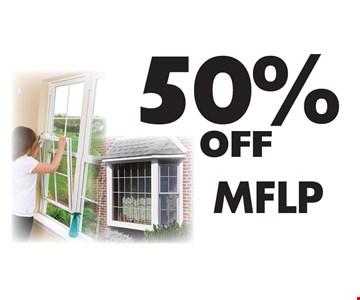 50% off MFLP