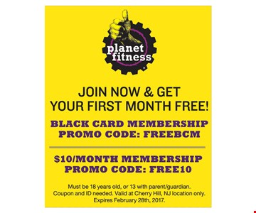 Join now and get your first month free