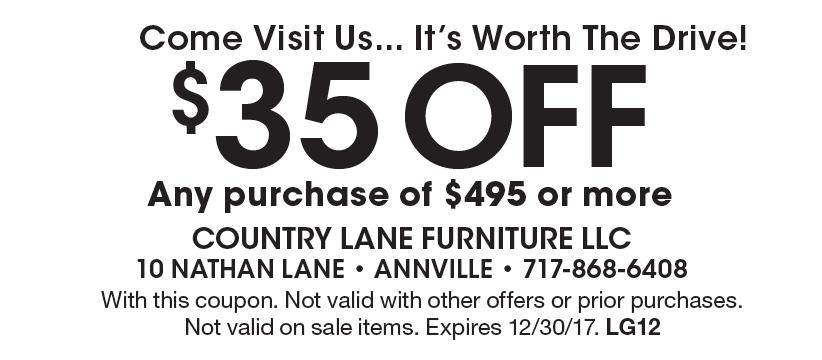 Country Lane Furniture LLC: Come Visit Us... Itu0027s Worth The Drive!