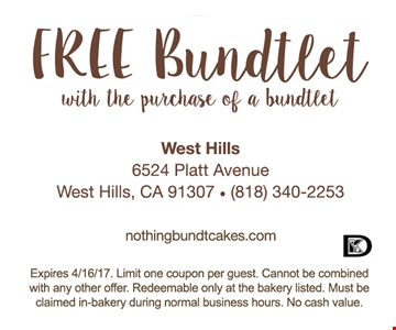 Free Bundtlet