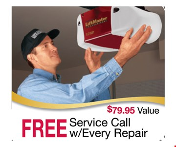 Free service call w/ every repair