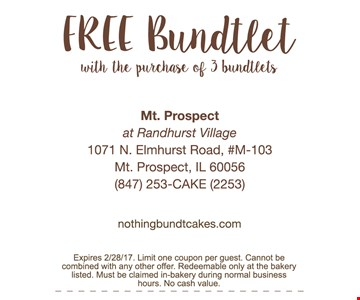 Free Budtlet with the purchase of 3 bundlets
