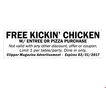 Free kickin' chicken
