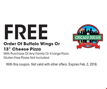 FREE Order Of Buffalo Wings Or 13