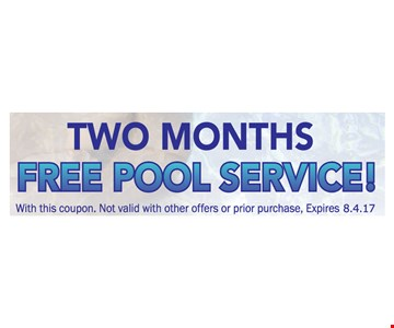 Free pool service.
