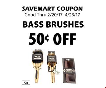 50¢ off Bass Brushes. SAVEMART COUPON. Good Thru 2/20/17-4/23/17.