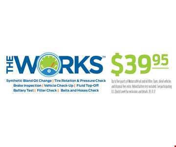 The Works $39.95
