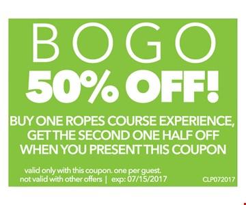 BOGO 50% off