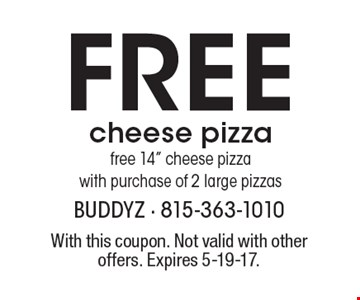 Free cheese pizza free 14