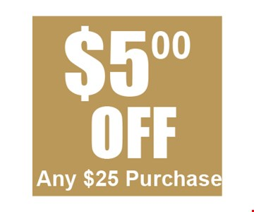 $5 off any $25 purchase. Valid Only At The Shoppes At Beville Rd. One time use only. Not valid with any other offer or in conjunction with Everyday Low Priced Items. One coupon per person. Coupon must be presented at time of purchase. Valid through 3-3-17.