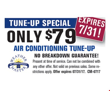 Only $79 Air Conditioning Tune-up