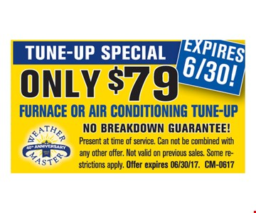 Tune-Up Special Only $79
