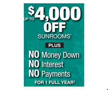 Up To $4,000 Off