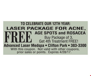 Free laser Package For Acne