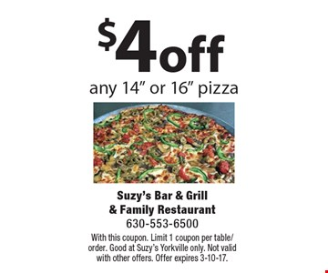 $4 off any 14